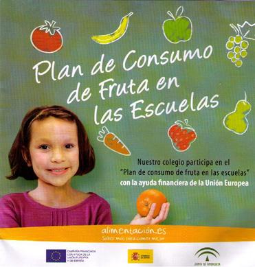 IMPARTICIÓN DE CHARLAS COLOQUIO PLAN DE CONSUMO DE FRUTAS EN LAS ESCUELAS 2011-2012