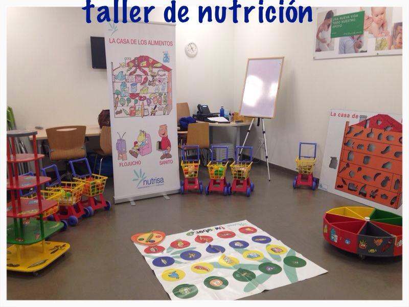 TALLERES DE NUTRICION EN SANITAS BUHAUIRA (SEVILLA) Y SANITAS CORDOBA